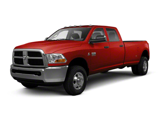 Bright Red 2012 Ram Truck 3500 Pictures 3500 Crew Cab SLT 2WD photos front view