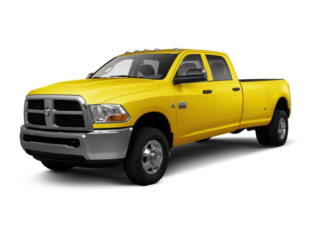 Yellow 2012 Ram Truck 3500 Pictures 3500 Crew Cab SLT 2WD photos front view