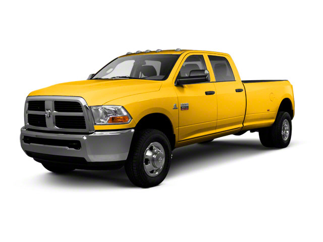 Case Construction Yellow 2012 Ram Truck 3500 Pictures 3500 Crew Cab SLT 2WD photos front view