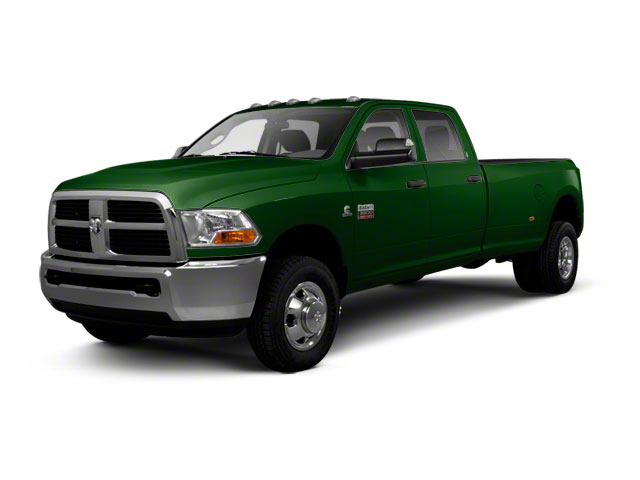 DT Green 2012 Ram Truck 3500 Pictures 3500 Crew Cab SLT 2WD photos front view