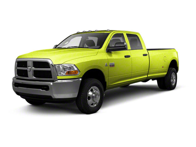 National Fire Safety Lime Yellow 2012 Ram Truck 3500 Pictures 3500 Crew Cab SLT 2WD photos front view