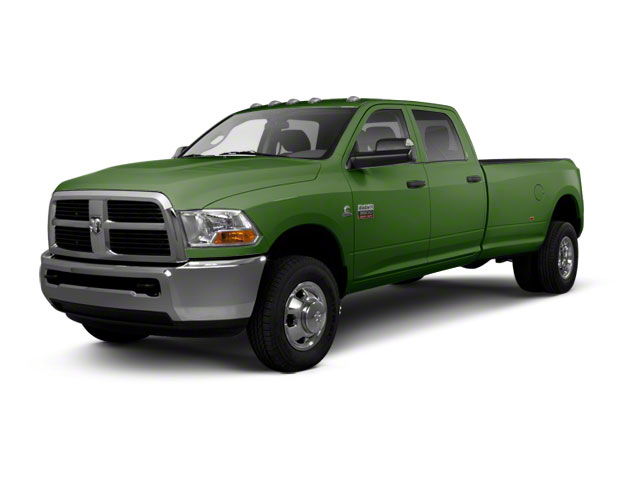 Light Green 2012 Ram Truck 3500 Pictures 3500 Crew Cab SLT 2WD photos front view