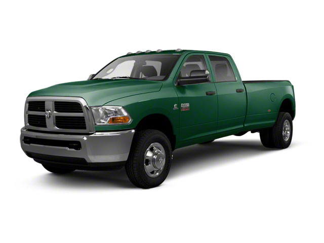 Timberline Green Pearl 2012 Ram Truck 3500 Pictures 3500 Crew Cab SLT 2WD photos front view