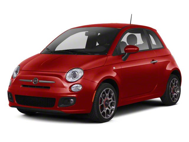 Rosso (Red) 2012 FIAT 500 Pictures 500 Hatchback 3D Sport photos front view