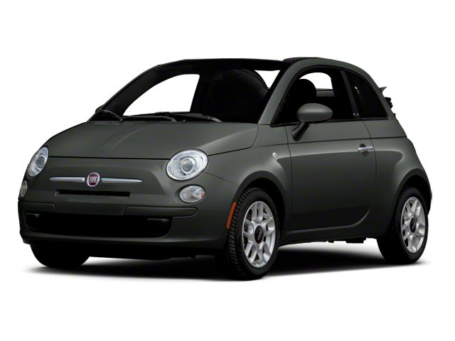 Grigio (Grey) 2012 FIAT 500 Pictures 500 Convertible 2D Lounge photos front view