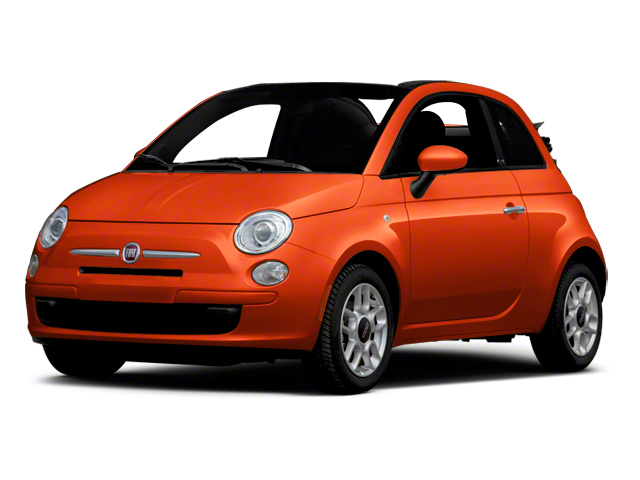 Rame (Copper) 2012 FIAT 500 Pictures 500 Convertible 2D Lounge photos front view