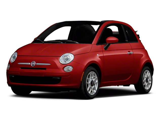 Rosso (Red) 2012 FIAT 500 Pictures 500 Convertible 2D Lounge photos front view