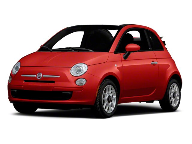 Rosso Brillante (Red Tri-Coat) 2012 FIAT 500 Pictures 500 Convertible 2D Lounge photos front view