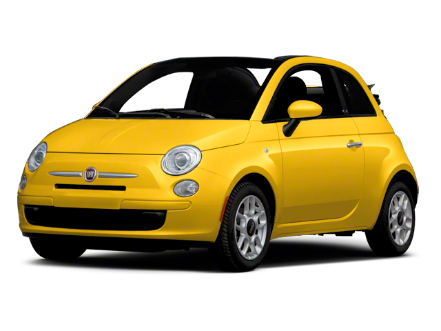 Giallo (Yellow) 2012 FIAT 500 Pictures 500 Convertible 2D Lounge photos front view