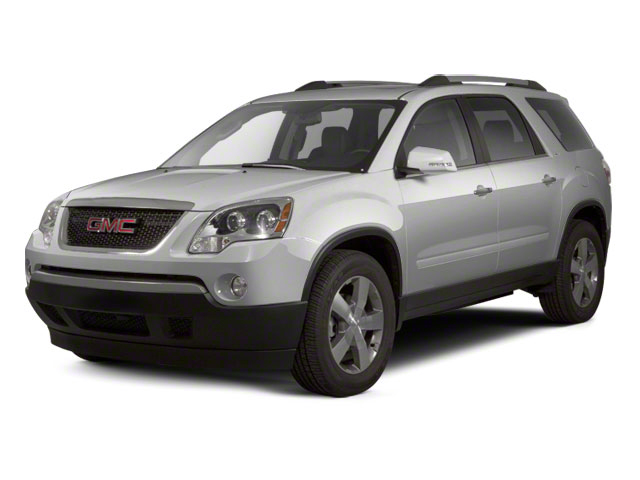 Quicksilver Metallic 2012 GMC Acadia Pictures Acadia Wagon 4D SLE AWD photos front view