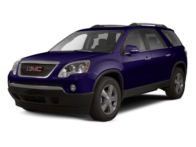 Dark Blue Metallic 2012 GMC Acadia Pictures Acadia Wagon 4D SLE AWD photos front view