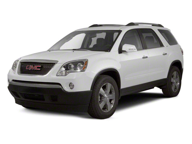 Summit White 2012 GMC Acadia Pictures Acadia Wagon 4D SLE AWD photos front view