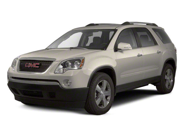 Gold Mist Metallic 2012 GMC Acadia Pictures Acadia Wagon 4D SLE AWD photos front view