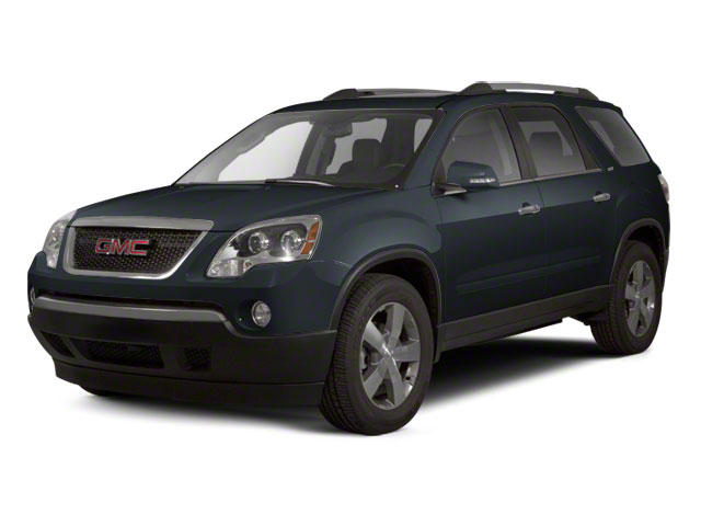 Cyber Gray Metallic 2012 GMC Acadia Pictures Acadia Wagon 4D SLE AWD photos front view