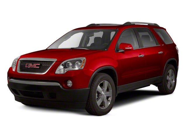 Crystal Red Tintcoat 2012 GMC Acadia Pictures Acadia Wagon 4D SLE AWD photos front view
