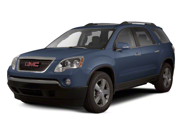 Steel Blue Metallic 2012 GMC Acadia Pictures Acadia Wagon 4D SLE AWD photos front view