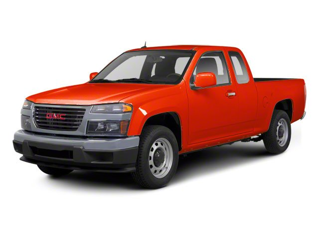 Red Orange Metallic 2012 GMC Canyon Pictures Canyon Extended Cab SLE photos front view