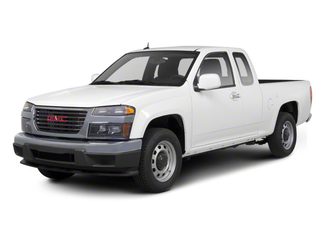 Summit White 2012 GMC Canyon Pictures Canyon Extended Cab SLE photos front view