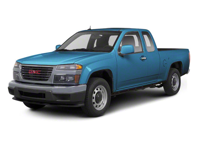 Aqua Blue Metallic 2012 GMC Canyon Pictures Canyon Extended Cab SLE photos front view