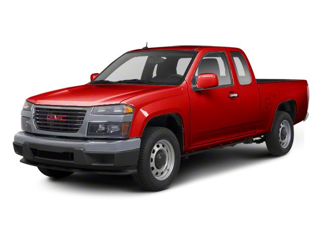 Fire Red 2012 GMC Canyon Pictures Canyon Extended Cab SLE photos front view