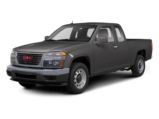 Dark Steel Gray Metallic 2012 GMC Canyon Pictures Canyon Extended Cab SLE photos front view