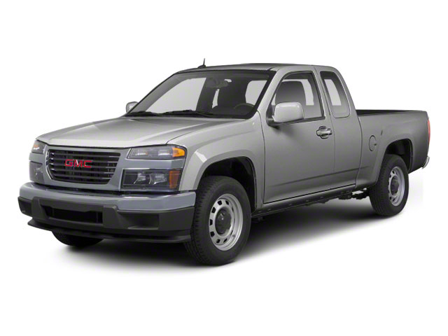 Pure Silver Metallic 2012 GMC Canyon Pictures Canyon Extended Cab SLE photos front view