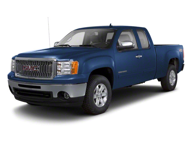 Midnight Blue Metallic 2012 GMC Sierra 1500 Pictures Sierra 1500 Extended Cab Work Truck 2WD photos front view