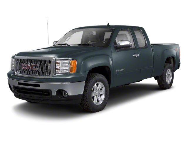 Stealth Gray Metallic 2012 GMC Sierra 1500 Pictures Sierra 1500 Extended Cab Work Truck 2WD photos front view
