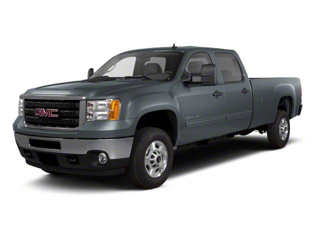 Stealth Gray Metallic 2012 GMC Sierra 2500HD Pictures Sierra 2500HD Crew Cab SLT 4WD photos front view