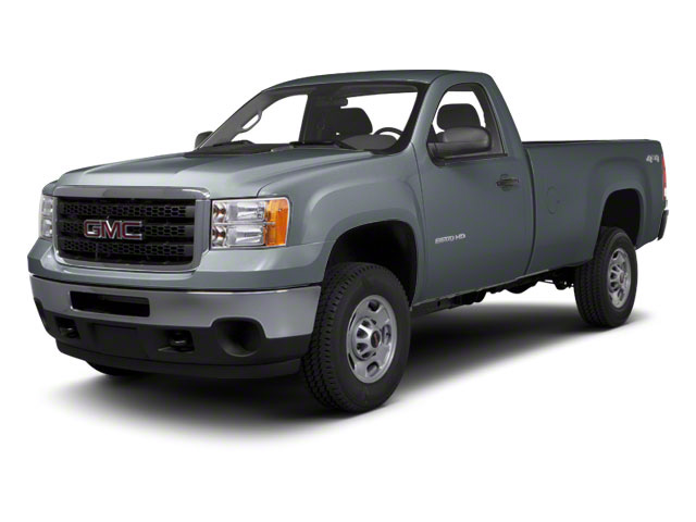 Stealth Gray Metallic 2012 GMC Sierra 2500HD Pictures Sierra 2500HD Regular Cab SLE 2WD photos front view