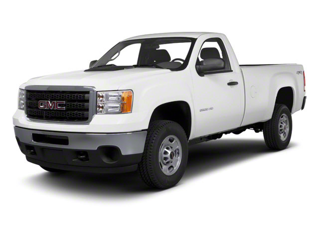 Summit White 2012 GMC Sierra 2500HD Pictures Sierra 2500HD Regular Cab SLE 2WD photos front view