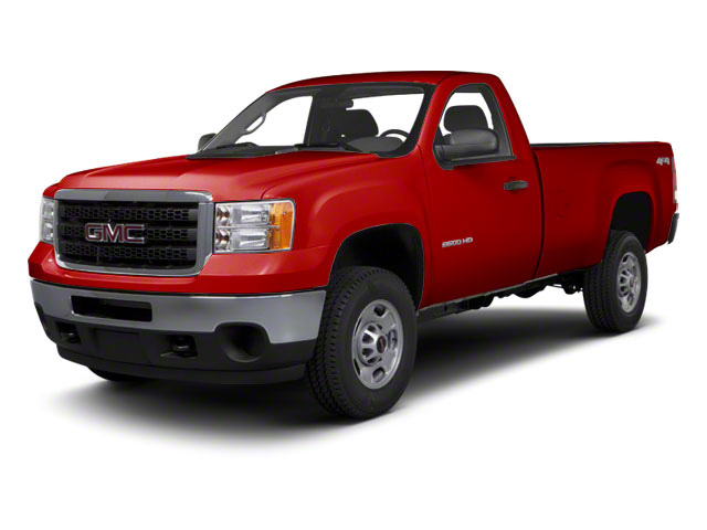Fire Red 2012 GMC Sierra 2500HD Pictures Sierra 2500HD Regular Cab SLE 2WD photos front view