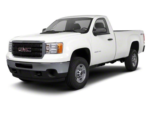 Quicksilver Metallic 2012 GMC Sierra 2500HD Pictures Sierra 2500HD Regular Cab SLE 2WD photos front view