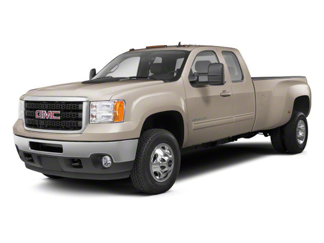Steel Gray Metallic 2012 GMC Sierra 3500HD Pictures Sierra 3500HD Extended Cab SLT 4WD photos front view