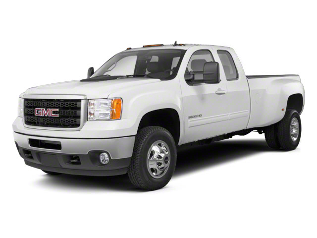 Summit White 2012 GMC Sierra 3500HD Pictures Sierra 3500HD Extended Cab SLT 4WD photos front view