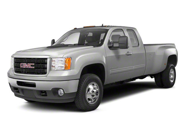Quicksilver Metallic 2012 GMC Sierra 3500HD Pictures Sierra 3500HD Extended Cab SLT 4WD photos front view