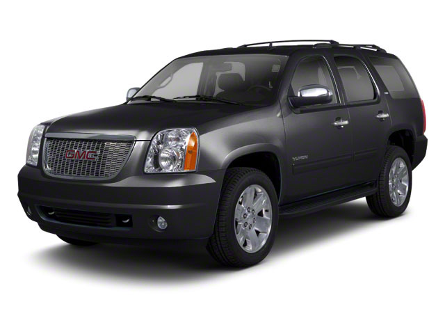Onyx Black 2012 GMC Yukon Pictures Yukon Utility 4D SLT 4WD photos front view