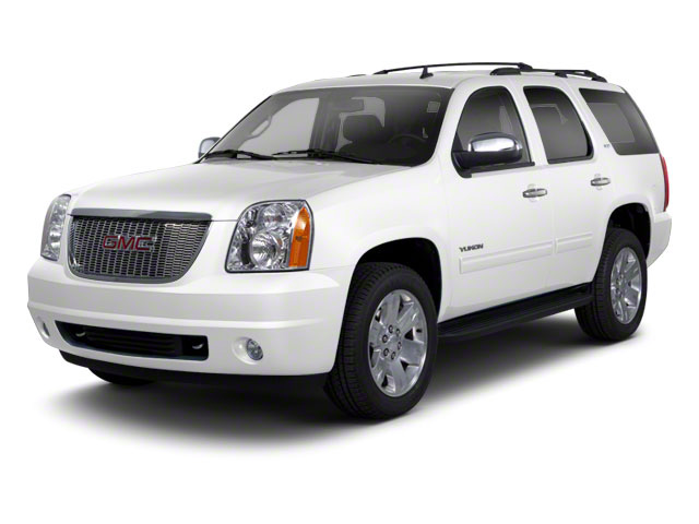 Summit White 2012 GMC Yukon Pictures Yukon Utility 4D SLT 4WD photos front view