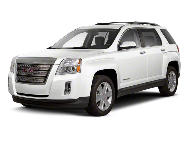 Olympic White 2012 GMC Terrain Pictures Terrain Utility 4D SLT AWD photos front view