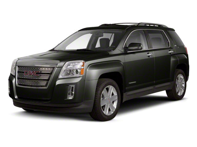 Steel Gray Metallic 2012 GMC Terrain Pictures Terrain Utility 4D SLT AWD photos front view