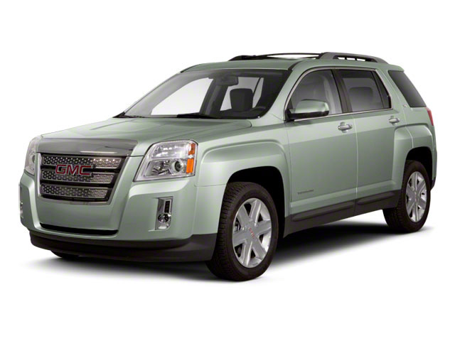 Gray Green Metallic 2012 GMC Terrain Pictures Terrain Utility 4D SLT AWD photos front view