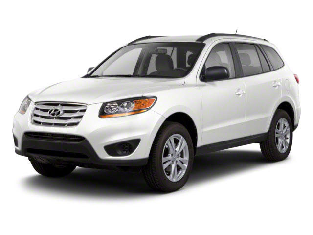 Frost White Pearl 2012 Hyundai Santa Fe Pictures Santa Fe Utility 4D GLS 2WD photos front view