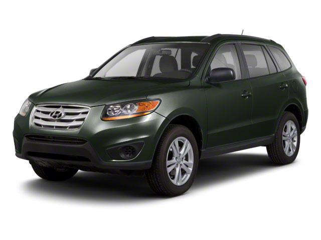 Black Forest Green 2012 Hyundai Santa Fe Pictures Santa Fe Utility 4D GLS 2WD photos front view