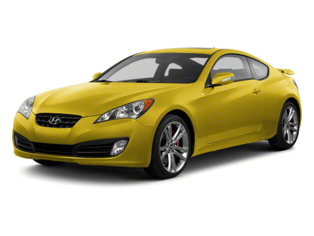 Interlagos Yellow 2012 Hyundai Genesis Coupe Pictures Genesis Coupe 2D Track photos front view