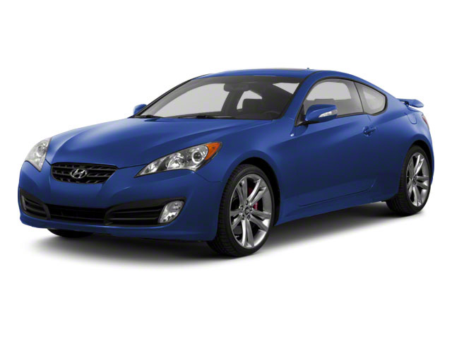 Mirabeau Blue 2012 Hyundai Genesis Coupe Pictures Genesis Coupe 2D Track photos front view