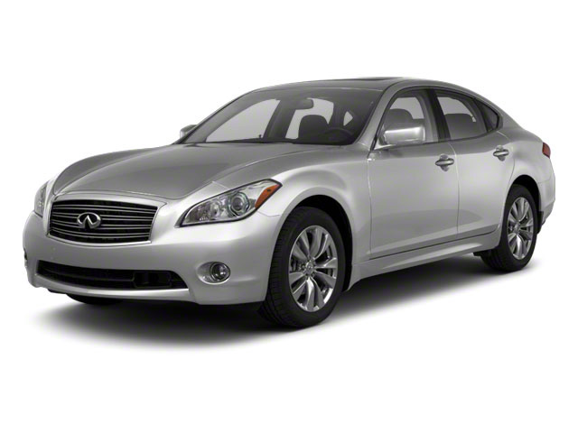Liquid Platinum 2012 INFINITI M56 Pictures M56 Sedan 4D photos front view
