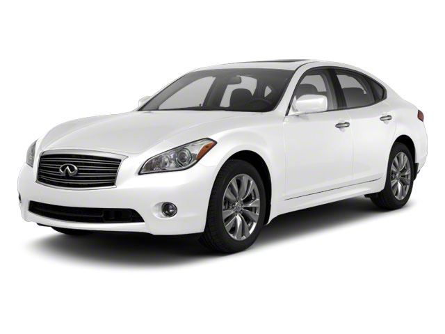 Moonlight White 2012 INFINITI M56 Pictures M56 Sedan 4D photos front view