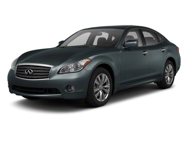 Harbour Blue 2012 INFINITI M56 Pictures M56 Sedan 4D photos front view