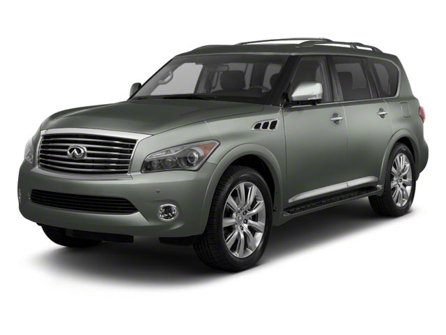 Mountain Sage 2012 INFINITI QX56 Pictures QX56 Utility 4D 4WD photos front view