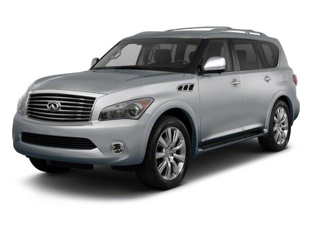 Platinum Graphite 2012 INFINITI QX56 Pictures QX56 Utility 4D 4WD photos front view